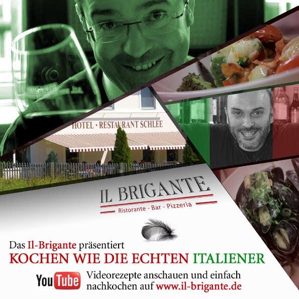 Kilpailutyö #2 kilpailussa Design eines Flugblatts for Italian Restaurant