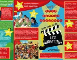 #41 for Design a Fun Daycamp brochure themed around 'SHOWTIME' by CustardRoyale