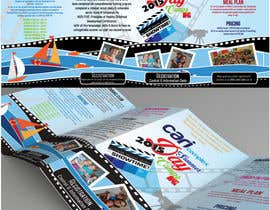 #13 untuk Design a Fun Daycamp brochure themed around 'SHOWTIME' oleh AalianShaz