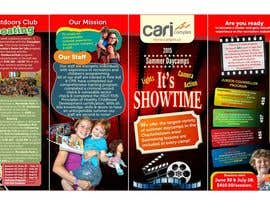 #24 untuk Design a Fun Daycamp brochure themed around 'SHOWTIME' oleh iulian4d