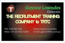 Participación Nro. 28 de concurso de Graphic Design para Logo Design for TRTC - Recruiter Training and Development