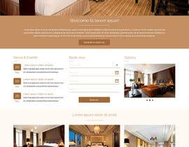 #34 cho Design a Website Mockup for Hotel bởi ravinderss2014