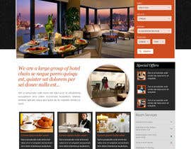 #12 cho Design a Website Mockup for Hotel bởi creativeglance07