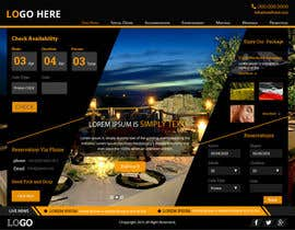 #17 cho Design a Website Mockup for Hotel bởi xsasdesign