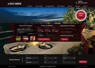 Graphic Design Konkurrenceindlæg #40 for Design a Website Mockup for Hotel