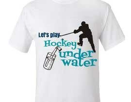 #27 untuk Do a t-shirt for Underwater Hockey oleh cristemadalina