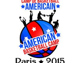 #1 untuk Design a Logo for Basketball Camp in Paris, France -- 2 oleh Fegarx