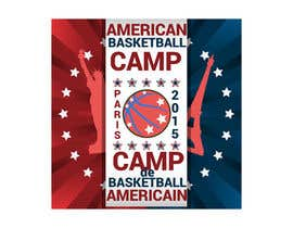 #7 untuk Design a Logo for Basketball Camp in Paris, France -- 2 oleh AdrianCuc