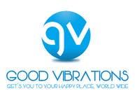 Graphic Design Konkurrenceindlæg #22 for Good Vibrations Travel Logo