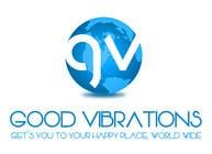 Graphic Design Konkurrenceindlæg #27 for Good Vibrations Travel Logo