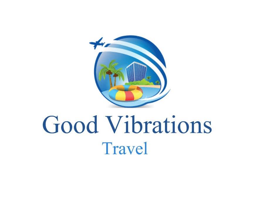 Konkurrenceindlæg #                                        10                                      for                                         Good Vibrations Travel Logo