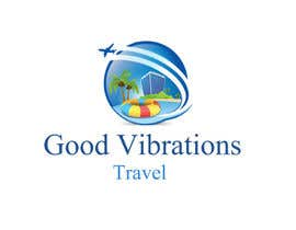 #10 para Good Vibrations Travel Logo por BestLion