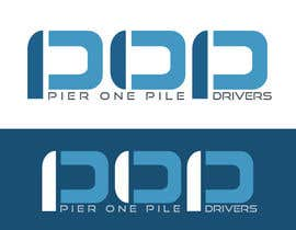 #14 para Design a Logo for Contractor (Pier One Pile Drivers) por vladspataroiu