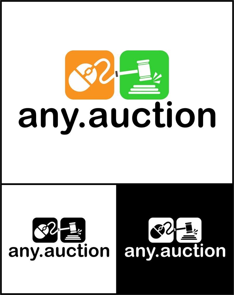 Proposition n°                                        40                                      du concours                                         Design a logo for an online auction website