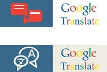 Graphic Design Contest Entry #7 for Design Icon 100*25 showing google Translate, easy job