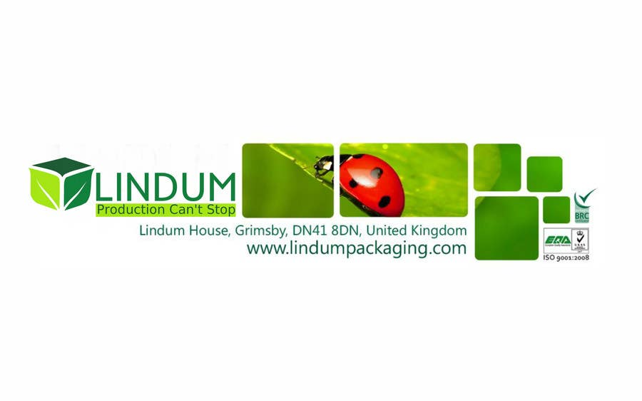 Konkurrenceindlæg #169 for Come up with a new brand image for Lindum Packaging