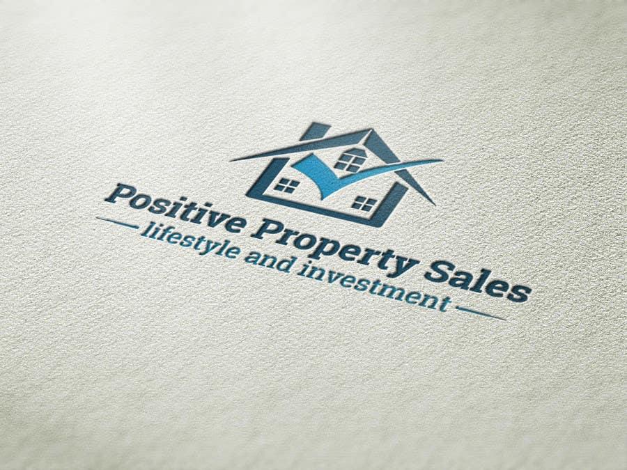Konkurrenceindlæg #                                        67                                      for                                         Design a Logo for Positive Property Sales (positivepropertysales.com)