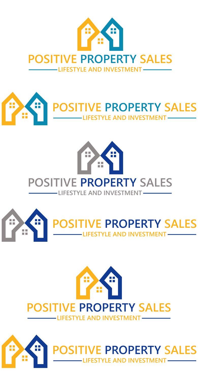 Proposition n°                                        63                                      du concours                                         Design a Logo for Positive Property Sales (positivepropertysales.com)
