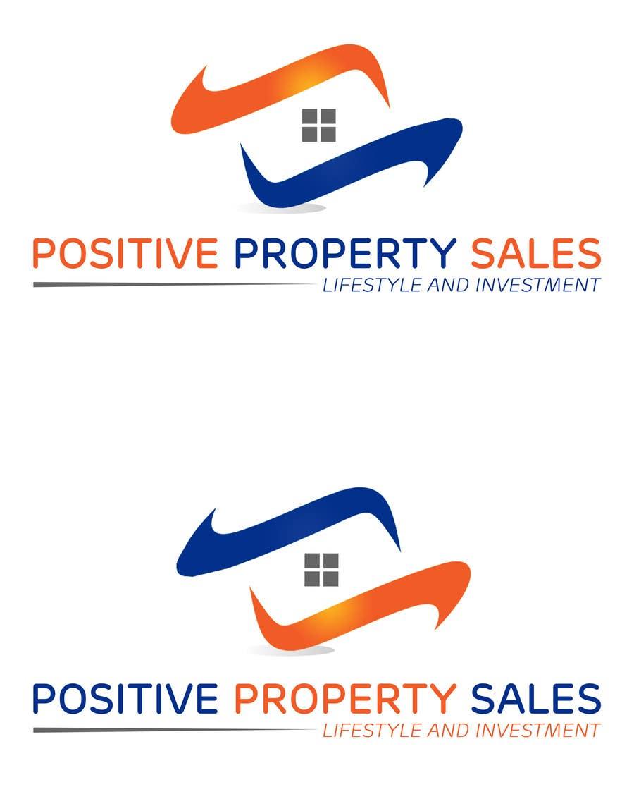 Konkurrenceindlæg #                                        75                                      for                                         Design a Logo for Positive Property Sales (positivepropertysales.com)