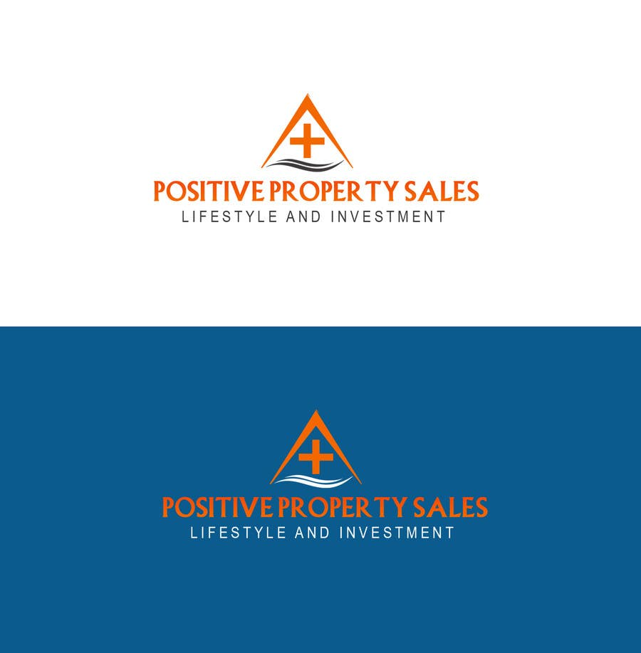Proposition n°                                        7                                      du concours                                         Design a Logo for Positive Property Sales (positivepropertysales.com)