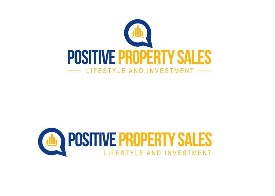 Proposition n°                                        55                                      du concours                                         Design a Logo for Positive Property Sales (positivepropertysales.com)