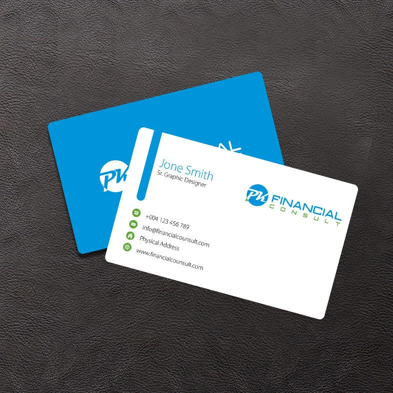 """Contest Entry #                                        120                                      for                                         Design Logo and Business Cards for """"PK Financial Consult"""""""