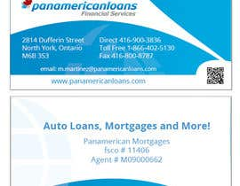 #51 for Design some Business Cards for Panamerican Loans by holecreative