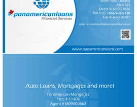 #38 for Design some Business Cards for Panamerican Loans by leadvisit