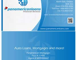 nº 54 pour Design some Business Cards for Panamerican Loans par leadvisit
