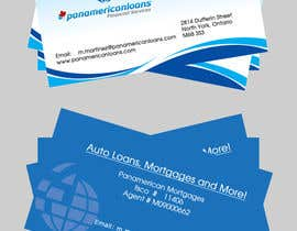 #33 untuk Design some Business Cards for Panamerican Loans oleh hatimprinting52