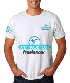 Nro 14 kilpailuun Design a T-Shirt for Freelancer.com's Anti Fraud Team käyttäjältä ekanshnigam