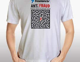 #44 for Design a T-Shirt for Freelancer.com's Anti Fraud Team af sidra24