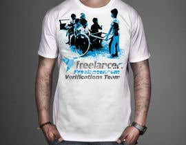 #28 for Design a T-Shirt for Freelancer.com's Verifications Team af shafiqulislam201