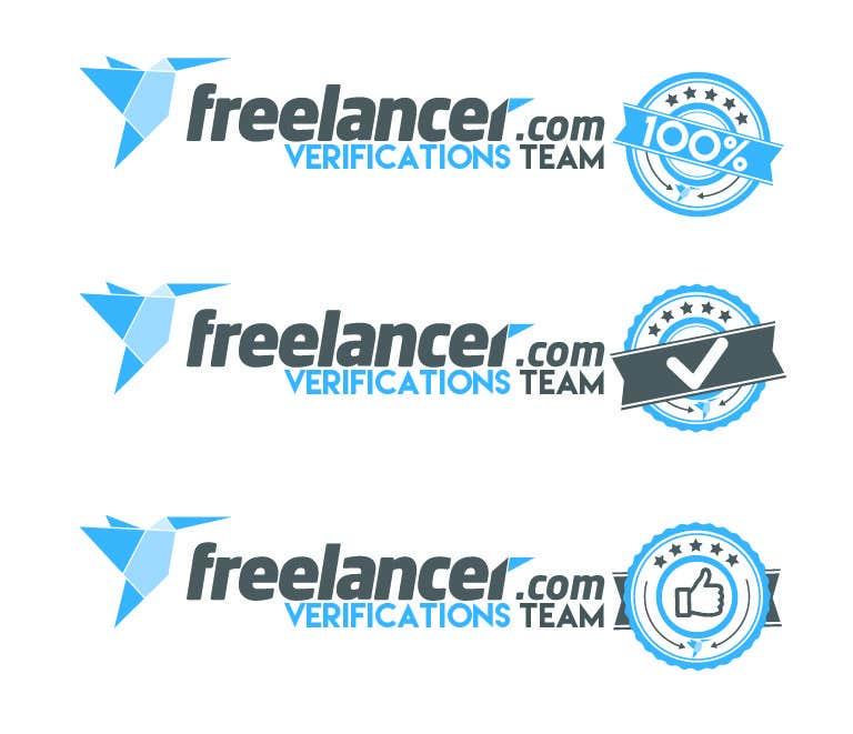 Contest Entry #                                        11                                      for                                         Design a T-Shirt for Freelancer.com's Verifications Team
