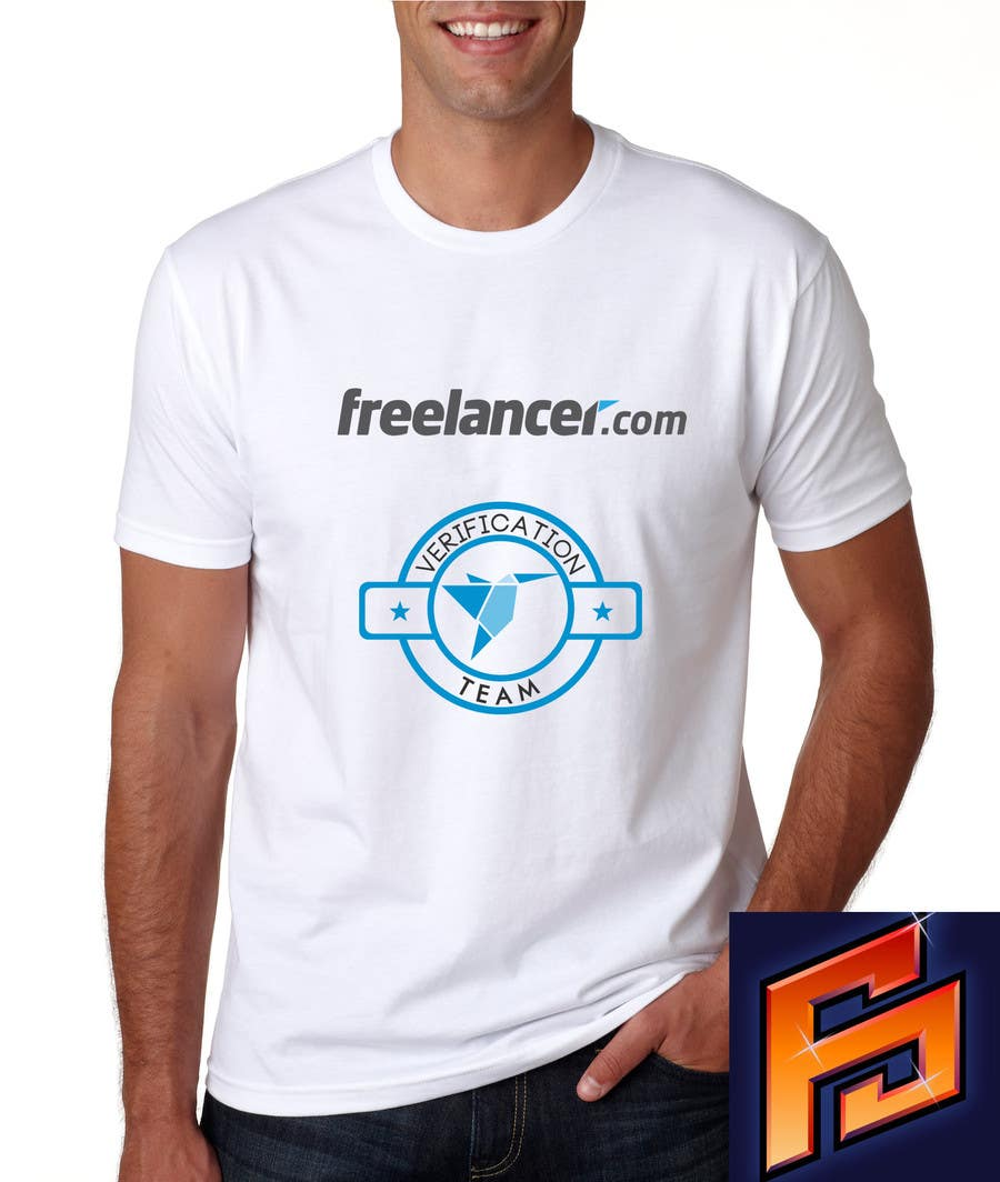 Contest Entry #                                        29                                      for                                         Design a T-Shirt for Freelancer.com's Verifications Team