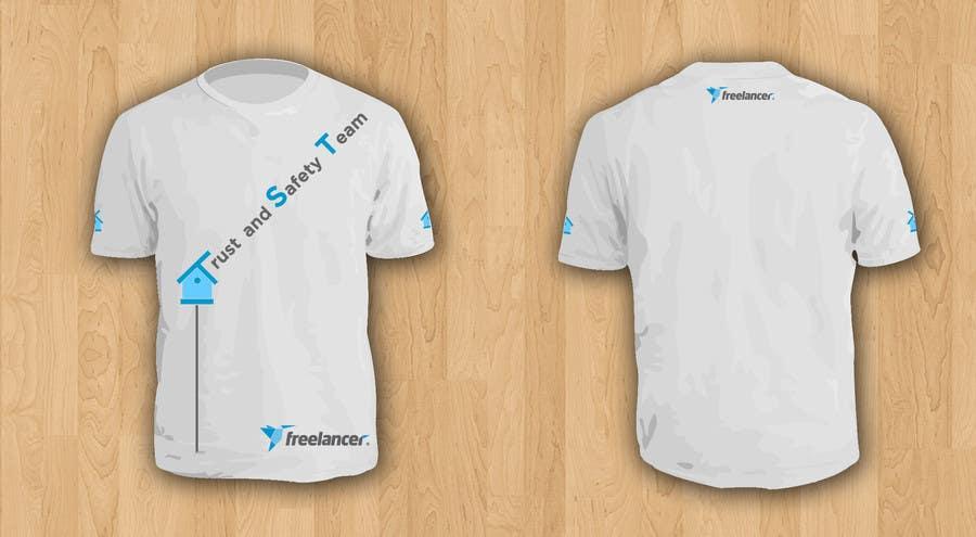 Konkurrenceindlæg #                                        15                                      for                                         Design a T-Shirt for Freelancer.com's Trust and Safety Team