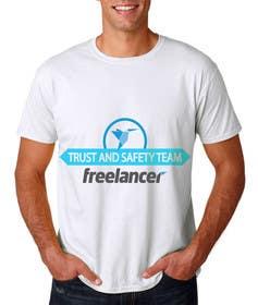 Nro 20 kilpailuun Design a T-Shirt for Freelancer.com's Trust and Safety Team käyttäjältä ekanshnigam