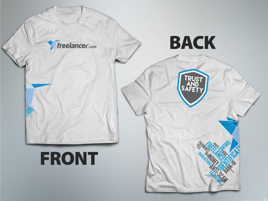 Konkurrenceindlæg #                                        60                                      for                                         Design a T-Shirt for Freelancer.com's Trust and Safety Team