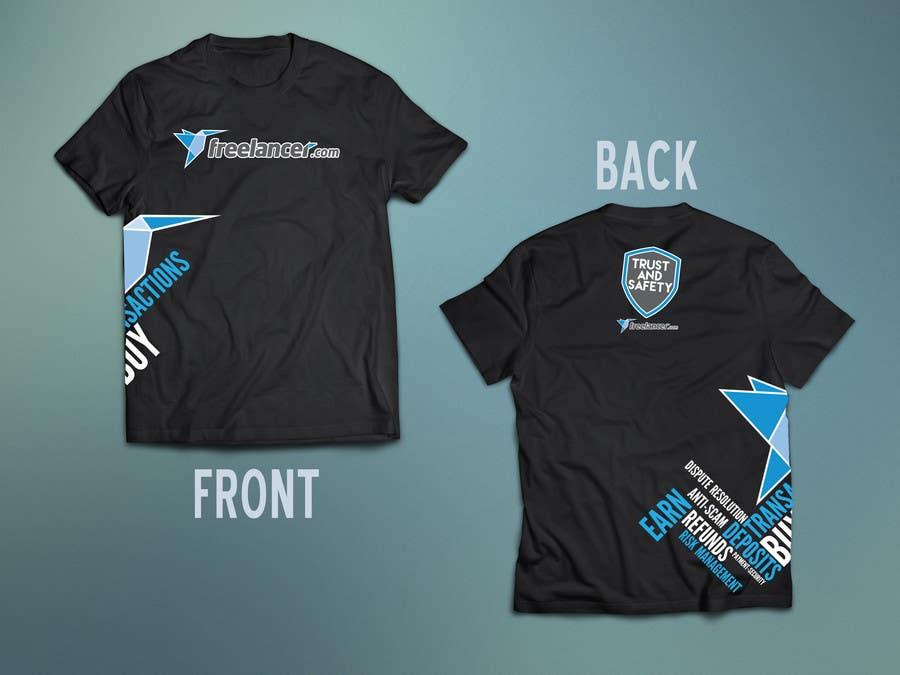 Konkurrenceindlæg #                                        65                                      for                                         Design a T-Shirt for Freelancer.com's Trust and Safety Team