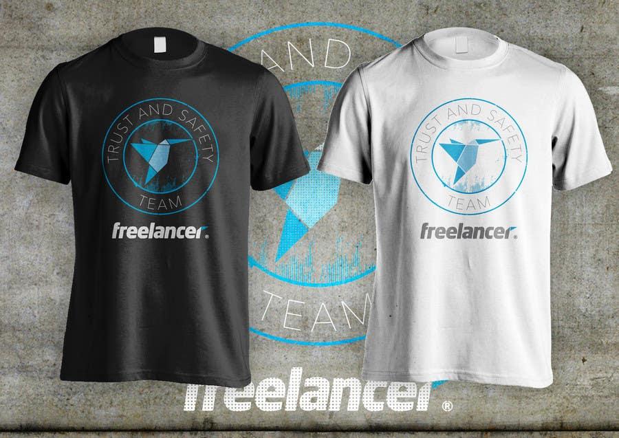 Konkurrenceindlæg #                                        47                                      for                                         Design a T-Shirt for Freelancer.com's Trust and Safety Team