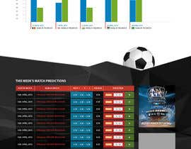 "ngscoder tarafından Simple website layout for ""Football prediction"" için no 6"