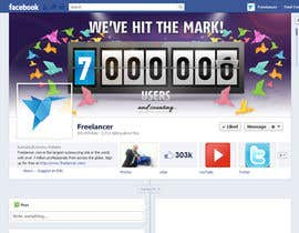 nº 252 pour Design a Banner for Freelancer.com's Facebook Page! par creativa7
