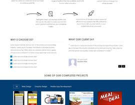 ZWebcreater tarafından Design a Website Mockup for Irish Media Agency için no 13