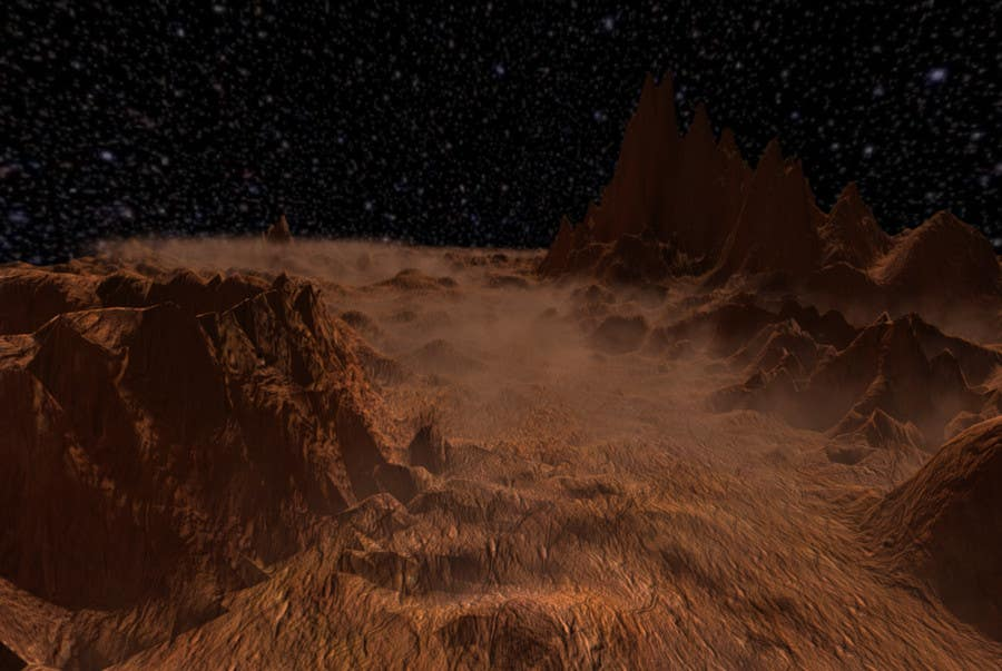 Contest Entry #                                        1                                      for                                         Create A Mars Scene in Unity 3D or Unreal Engine 4