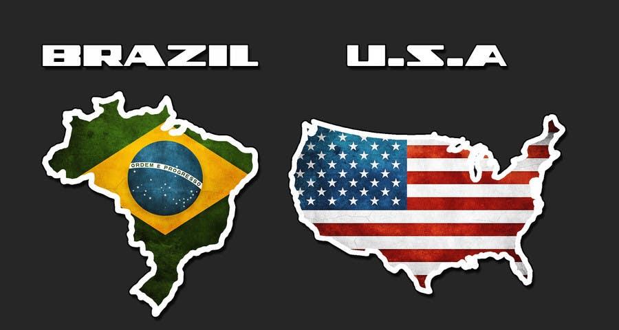#13 for Country logos by rikkibloemsaat