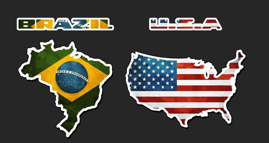 #58 for Country logos by rikkibloemsaat