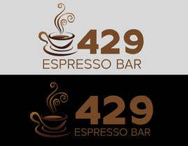 #22 untuk Name a cafe and design a logo around '428' oleh Skylords