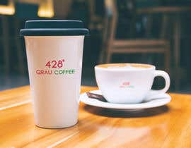 #1 untuk Name a cafe and design a logo around '428' oleh codigoccafe