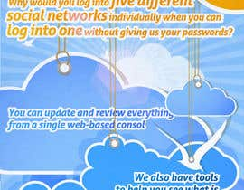 #66 untuk Full-Page Advertisement Design for Social Networking Website oleh Macario88