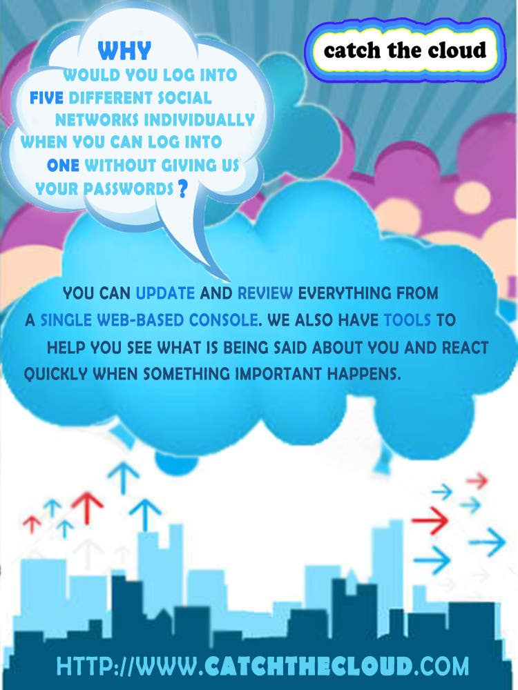 #76 for Full-Page Advertisement Design for Social Networking Website by MarionneLourdes
